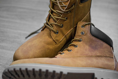 Boots (JedMatangi) Tags: boots fashion brown natural leather new 18 macro shoes clothing art design