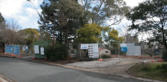 Two houses gone together at the bottom of our street (spelio) Tags: canberra act australia 2017 july house housing place homes architecture mrfluffy asbestos removal demolition clearing blocks