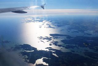 Start in Helsinki - facing south