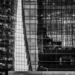 Urban reflection (flo73400) Tags: urbain urban reflection reflet building immeuble moderne nb bw architecture fragment
