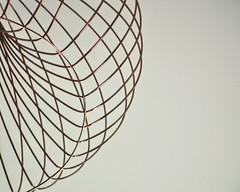 Lattice (DavidSteele31) Tags: lattice lines copper lessismore light simple wire