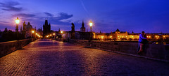 The Kiss (Normsnature) Tags: charlesbridge prague kiss normanngphotography fujifilm gfx50s landscape tourism travel nightscape