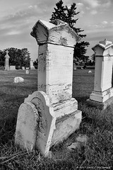 Time Drifts By . . . (David C. McCormack) Tags: americana artistic antique blackwhite bw blackandwhite country death eos eos6d gravemarker grave inspiration midwest monochrome outdoor spiritual rural wisconsin