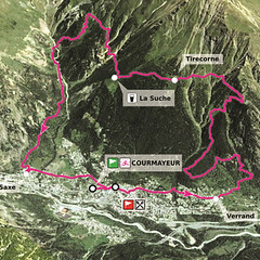 YCC 2017 Map (~ jacky ~) Tags: ultra trail du mont blanc utmb 2017 youth chamonix courmayeur