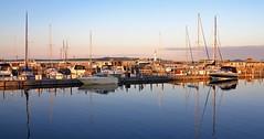 IMG_4207 (2) Saint Ignace Harbor (jgagnon63@yahoo.com) Tags: saintignacemi harbor uppermichigan straitsofmackinac maritime boats yachts july boat water saintignace panorama lakemichigan greatlakes