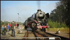 20081012 SSN 01 1075, Rotterdam Noord Goederen (Koen Brouwer) Tags: ssn rtng rotterdam noord goederen open dagen stoomtrein trein train zug station gare bahnhof