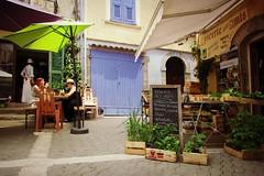 La Provenza ... (Augusta Onida) Tags: provenza provence francia france verdure shop negozio vegetable castellane bar coffeshop street strada