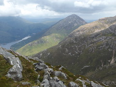 View from the Pap of Glencoe towards Kinlochleven, Highland, Scotland, 23 July 2017 (AndrewDixon2812) Tags: glencoe loch leven highland scottish scotland pap mountain kinlochleven sgorrnaciche