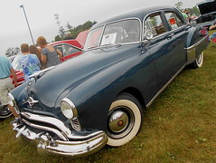 1949 Oldsmobile 76 (splattergraphics) Tags: 1949 oldsmobile 76 olds olds76 carshow aacamuseum hersheypa
