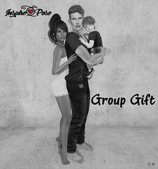 Inspire Pose - Group Gift (inspireposes) Tags: inspirepose group gift 0l newssl exclusive original secondlife sl family kids
