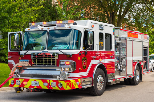 Mississauga Fire Truck