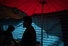 * (Sakulchai Sikitikul) Tags: street snap streetphotography summicron songkhla sony umbrella red blue muslim islamic thailand market silhouette 35mm leica a7s