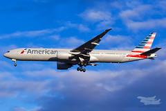 N728AN AA B77W 16R YSSY-1673 (A u s s i e P o m m) Tags: saintpeters newsouthwales australia au americanairlines aa american boeing b77w syd yssy sydneyairport