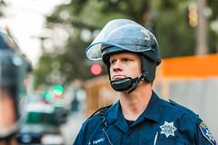 Oakland 2010 (Thomas Hawk) Tags: california eastbay johannesmersehle oakland oaklandpd oaklandpolicedepartment oaklandriots oaklandriots2010 oscargrant usa unitedstates unitedstatesofamerica cop cops oaklandca070810 police protest riot riots fav10