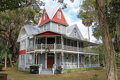 May-Stringer House, Brooksville (StevenM_61) Tags: architecture house museum historical victorian tower porch brooksville florida