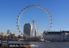 Day Eye (newphotographyuk) Tags: london wheel londoneye nightime daytime blue sky circle photography architecturephotography