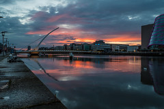 Dublin Port (Campbell, Paul) Tags: dublin port docks night sbb conventioncentre poolbeg lighthouse incinerator