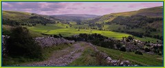 Happy Yorkshire day. (A tramp in the hills) Tags: kettlewell wharfedale yorkshire dales