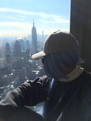 NYC (jennbonni) Tags: nyc newyork ny empirestate top rock buidings buiding city new york blue hair