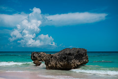 Horseshoe Bay, Bermuda (audsthetics) Tags: beach water ocean sea sky rock natural formations seascape oceanscape landscape travel adventure bermuda horseshoebaybeach horseshoebay horseshoe bay