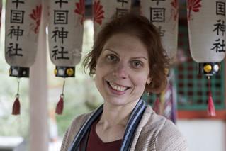 Lise at Tōdai-ji, Nara