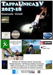 La nuova locandina (Emanuele Cinelli & Mondo Nudo) Tags: sport trail escursionismo brescia eventi valtrompia tappaunica3v sentiero 3v eventisportivi