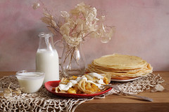 I Like Pancakes (panga_ua) Tags: ilikepancakes pancakes dairyproducts milkproducts food milk smetana sourcream lunaria glassware glassjug yogurt woodentabletop paintedbackground imagination spectacular poetic creation artwork art artistic arrangement composition stilllife bodegon naturamorta naturemorte tabletop sharpfocus availablelight canon artphotography artisticphotography presentation nataliepanga ukraine rivne natalie panga натальяпанга