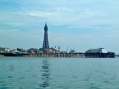Blackpool Tower and North Pier (John of Wirral) Tags: irishsea coast blackpool lancashire tower lunatic voyage