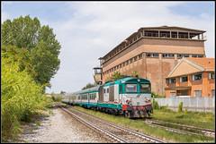 20-07-17 Trenitalia D445 1118 + rijtuigen, Castelfiorentino (Julian de Bondt) Tags: trenitalia d445 castelfiorentino fs ferrovie dello stato