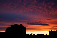 IMGL3895_DxO (baptisteflageul) Tags: couchedesoleil sunset soir evening soleil sun nuages clouds cloudporn ciel sky skyporn orange rouge red jaune yellow wow nature paysage landscape bleu bluehour blue paris france urbain urban