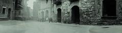 EL FRAGO - Plaza Mayor (Miguel Angel Tremps) Tags: elfrago plazamayor estenopeica estenopo pinhole fotografíaestenopeica miguelangeltremps papelilfordrc lata