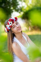 IMG_6967 (Galika_) Tags: teen girl long hair smile sunset sundown summer wreath flower portret memory natural naturallight white green canon 6d 85mm 8518 bulgaria