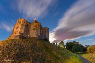 Moonlight at Warkworth Castle