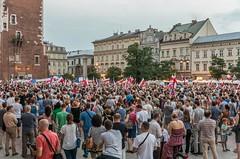 IMGP7311 (TomaszMazon) Tags: protest democracy krakow poland court antigovernment crowd
