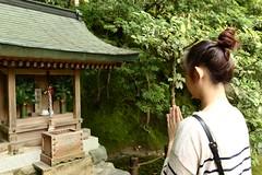 Pray (ritachung) Tags: kyoto japan wish pray