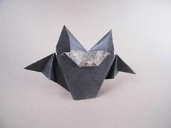 Bat - Natalia Romanenko (Rui.Roda) Tags: origami papiroflexia papierfalten murcielago morcego chauve souris bat natalia romanenko