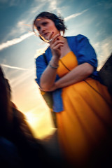 SAINT-MICHEL PARIS street photography (Carlos Pinho Photography) Tags: paris street streetphotography girl silhouette sunset people canon canonfrance smoke