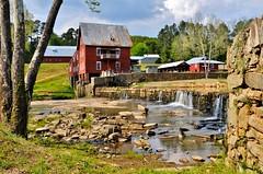 Sparta Mill View 3 (Neal3K) Tags: georgia spartamill millmoremill harrismill baxtersmill millatshoulderbone spartaga red