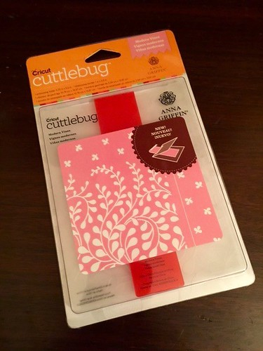 an embossing folder package