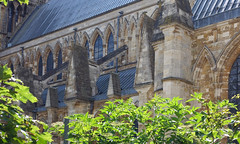 Lincoln Cathedral, flying buttresses