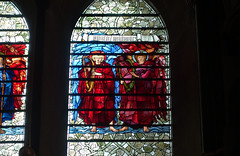 Salisbury Cathedral, Burne Jones window (right)