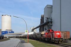 HH Reiherstieg GTH 261 091-3 (Wolfgang Schrade) Tags: gravita br261 gth hoheschaar db dbcargo getreideterminalhamburg