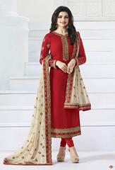 Red Georgette Straight Cut Salwar Kameez (nikvikonline) Tags: cotton salwarkameez designerwear designer designercollection dailywear designersuit pakistanisuit partywear pakistanisalwarsuit pakistanikameez printed patiala patialasuit pakistanidress printedwork pakistaniwedding pakistaniwear