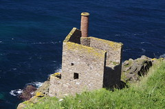 Old mine (Sundornvic) Tags: tin mine sea cliff coast rocks water ocean poldark cornwall kernow