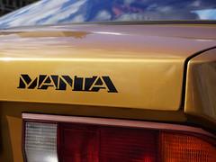 Opel - MANTA (ingrid eulenfan) Tags: leipzig europeanautoclassic fahrzeug auto automobil augustusplatz kraftfahrzeug opel manta
