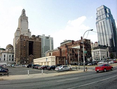 Kansas City ~ Missouri ~ Vintage photo of Downtown ~ Historic