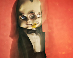 Turn their Joy and Laughter into Suffering and Screams (GothGeekBasterd) Tags: edgrr living dead dolls series 30 doll male boy two faced