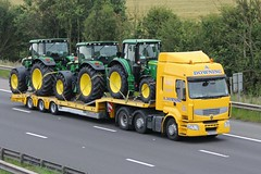 A Downing Plant Tractors 19th July 2017 (asdofdsa) Tags: transport haulage hgv m18 motorway truck lorry
