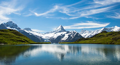 Rippled Reflection (Gordon Mackie) Tags: bachalpsee alps mountain switzerland grindelwald reflection