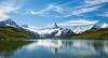 Rippled Reflection (Gordon Mackie) Tags: bachalpsee alps mountain switzerland grindelwald reflection